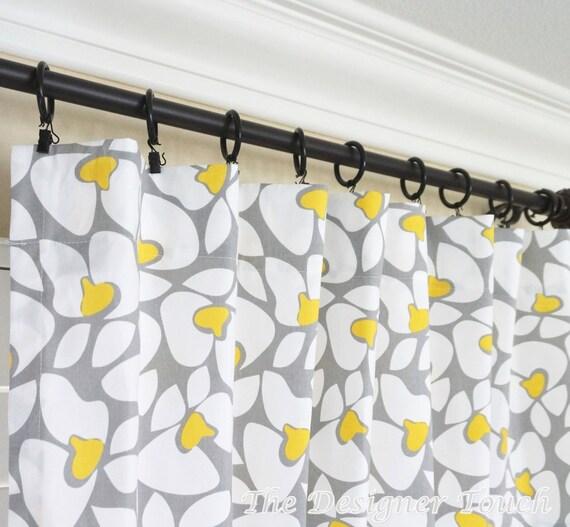 vorhang gelb grau lilashouse. Black Bedroom Furniture Sets. Home Design Ideas
