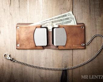 Leder-Geldbörse, Herren Leder Geldbörse, Geldbörse, Herren Geldbörse, traditionelle 015_CH