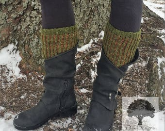 Reversible Brioche Boot Toppers/Cuffs - Pattern