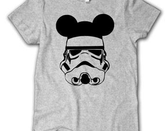 Storm Trooper Mickey Ears, Star Wars shirt, Toddler, Youth, Disney fan shirt, youth, disney shirts kids, Disney shirt, Disney World Shirt
