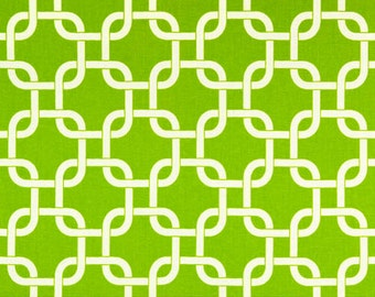 Premier Prints Geometric Gotcha in Chartreuse 7 oz Cotton Home Decor fabric, 1 yard