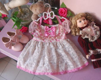Strawberry Dauphine kids dress