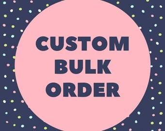 Bulk order for Okra&Molly