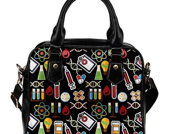 Phlebotomist/Phlebotomy/Phlebotomy Technician Shoulder Bag/Handbag - Gift For Phlebotomist, Phlebotomy Technician or Anyone Into Phlebotomy