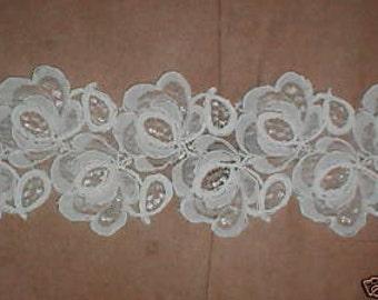 Ivory Alencon Lace