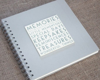 East Of India Memories Guest Book / Keepsake Album Birthday / Anniversary Present