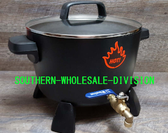 Presto Pot X-Large Wax Melter/Candle Making With Spout/Wax Melting/8 Quart 10-12 Pounds