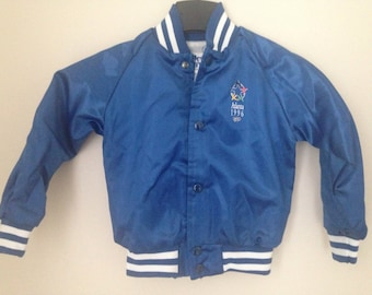 NOS Atlanta 1996 Olympics childs bomber jacket
