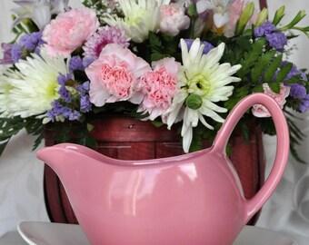 Pink Midwinter Stylecraft jug and under saucer  1960s