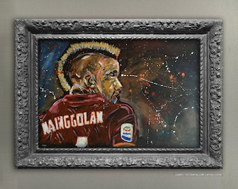 Nainggolan Acrylic Painting Canvas Board
