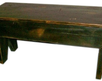 Primitive Country Mud Bench