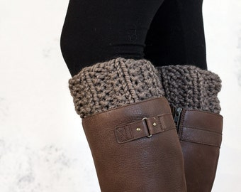 Boot Cuff Knitting Pattern - NOBILITY - a set of instructions to knit the boot cuffs - Digital Download