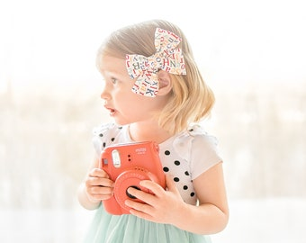 Classic Bow-Spring Bow-From the Mountain Tops-Hair Bow-Baby Bow-Over-sized Bow-Girls Bow