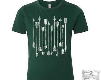 Kids ARROWS Premium vintage soft Tee T-Shirt Fine Jersey T-Shirt (+Colors) - FREE Shipping