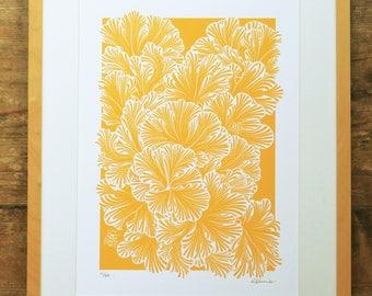 Communal fungi limited edition A3 print