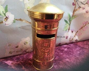 Brass Postbox