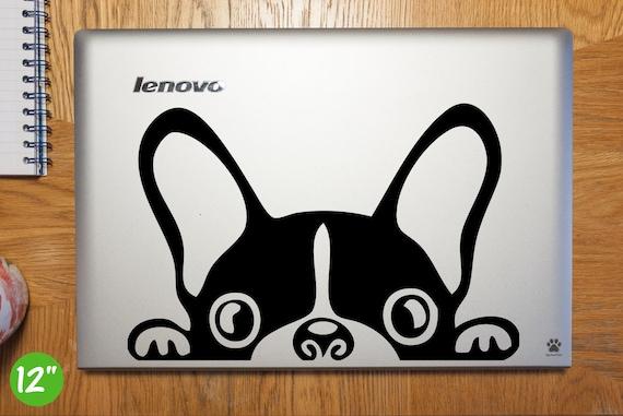 French Bulldog Laptop Sticker Laptop Decal French Bulldog Car Decal French Bulldog Vinyl Art Sticker