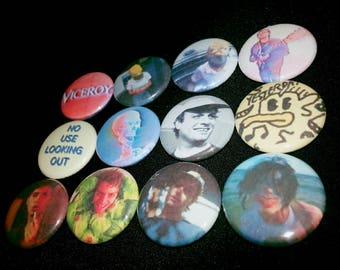 12 one-inch Mac Demarco button pins