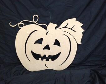 Wooden Halloween Pumpkin Decor/Wall Hanging