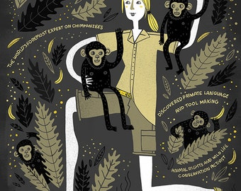Women in Science: Jane Goodall