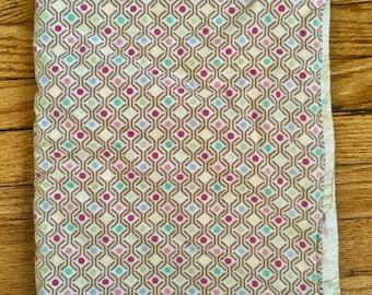 Baby Blanket - Floral Baby Blanket - Geometric Baby Blanket