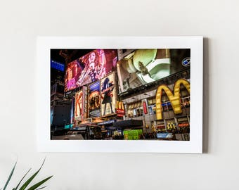 Times Square, NYC - Fine Art Giclée print for home & office decor