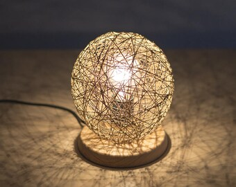 Wood-based Wire lamp