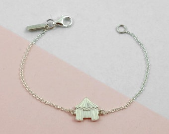 Bracelet with Circus-Tent // The FUN FAIR Collection