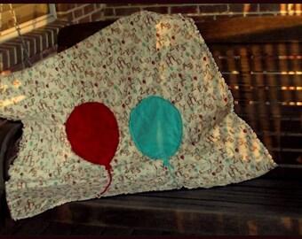 Alphabet Balloon Baby Quilt