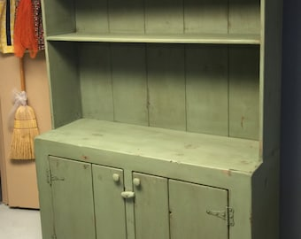 Primitive Kitchen Hutch Dining Room