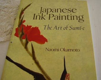 Japanese INK PAINTING Craft BOOK