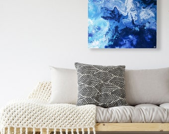 Original Abstract Art, Original Painting, Fluid Wall Art, Wall Decor, Abstract Ocean, Original Wall Art, Handmade, Abstract Painting,