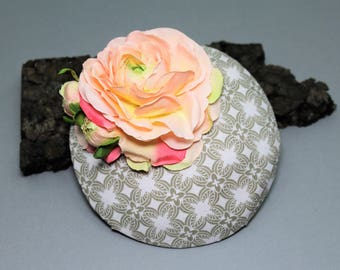 """Hat/Headpiece/fascination """"Lady Rose"""""""
