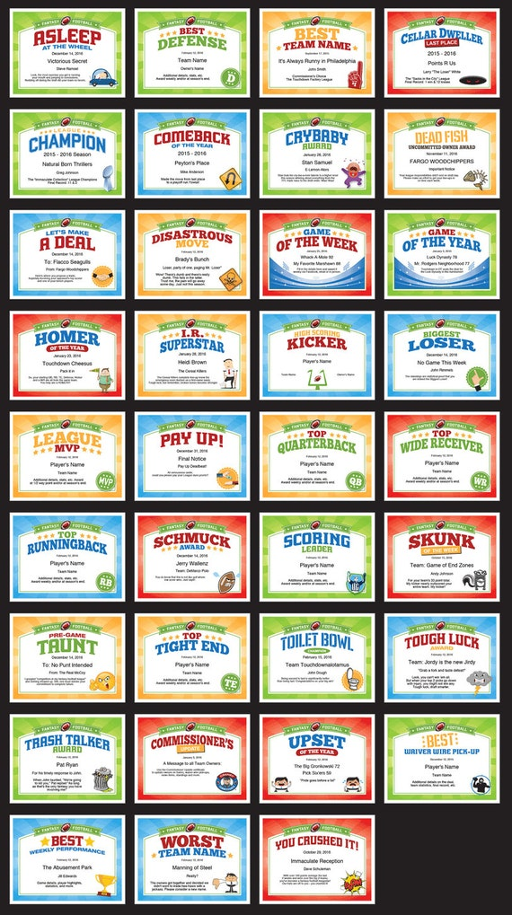 Fantasy football certificates fantasy football trophy fantasy football certificates fantasy football trophy champion fantasy football awards fantasy football fans fantasy football lovers yelopaper