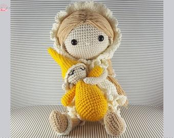 NELA - amigurumi doll crochet pattern pdf