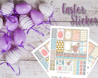 Easter Sticker Set - Printable for Classic Happy Planner