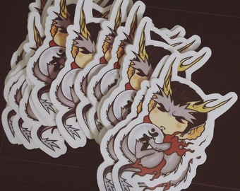 "3"" DRAGON KIRYU STICKER"