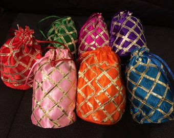 Party Favor Pouches - 10 Pouches for 20 Dollars