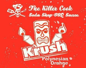 The Killer Cooks Soda Shop BBQ Sauce: Orange Krush Polynesian BBQ Sauce