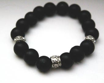 Black Statement Bracelet