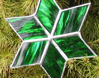 star ornament-Christmas-green