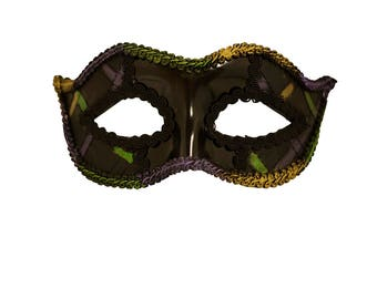 Colton Mardi Gras Masquerade Mask for Men