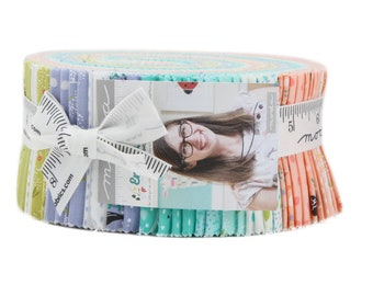 Enchanted by Gingiber for Moda - Factory Precut - Jelly Roll - SAMPLE SPREE PRECUT