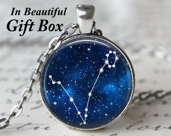 Zodiac Jewelry • Pisces Star Sign • Pisces Necklace • Constellation Necklace • Astrology Jewelry • Birthday Necklace • Pisces Zodiac