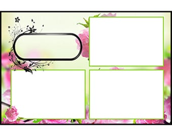 Photo Strip Template for Photo Booths | 4072