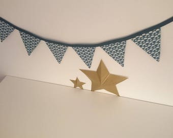 Fabric Bunting / / decor / / gift