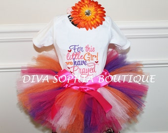 For this Child We Have Prayed Tutu Set