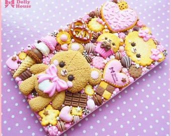 Kawaii Pass Holder Case with chain by Dolly House