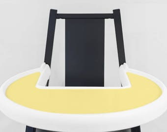 Buttercup Yellow // IKEA Blames Highchair Silicone Placemat // High Chair Place Mat
