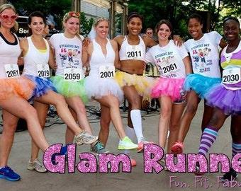 Custom Glam Runner Tutu